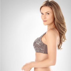 32B Soma Shimmer Cami Underwire Bra, Taupe